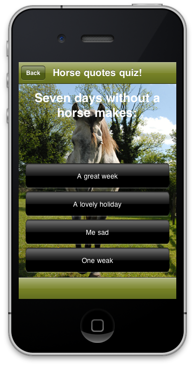 Horse quotes   Grey Horse Apps